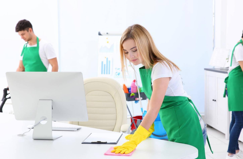 Գրասենյակների մաքրություն